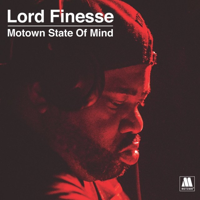Lord Finesse - Motown State Of Mind Artwork