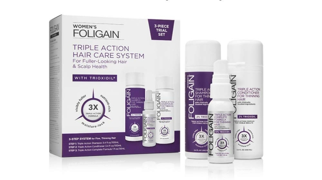 Foligain-Triple-Action-Hair-Care-System-for-Women-Set